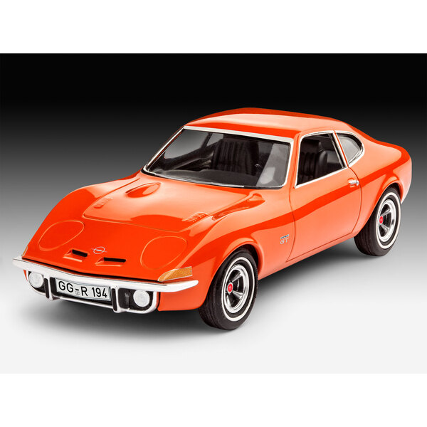 Opel GT An easy to build model construction kit of the legendary and well-loved Opel GT which was elementarily different from th
