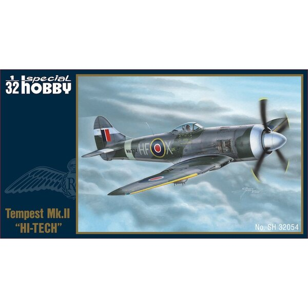 Hawker Tempest Mk.II Hi-Tech (There are twice as many resin parts in this kit as in the Mk.V Hi-Tech so it is a slightly higher