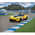 corvette c7.r an easy to build model construction kit of this successful gt racing car that amongst