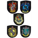 Harry Potter Patches 5-Pack House Crests Cinereplicas HPECREST-HP
