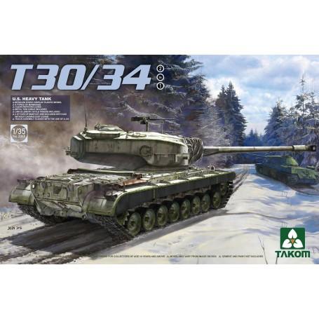 U.S. Heavy Tank T30/34 2 in 1