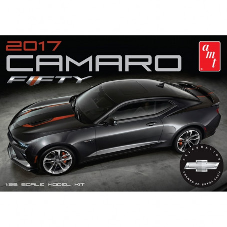 2017 Chevy Camaro 50th Anniversary. Chevy Camaro 50th AnniversaryChevrolet's 50th Anniversary Camaro is striking to look at and