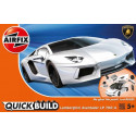 Lamborghini Aventador New Colour QUICK BUILD (No glue or paint required) Airfix QUICK BUILD is an exciting range of simple, snap