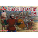 Spanish Infantry (Pike). Set 3. 16 c. Red Box RB72098