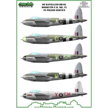 TAMIYA 1//72 AVION de Havilland Mosquito FB MK.V1