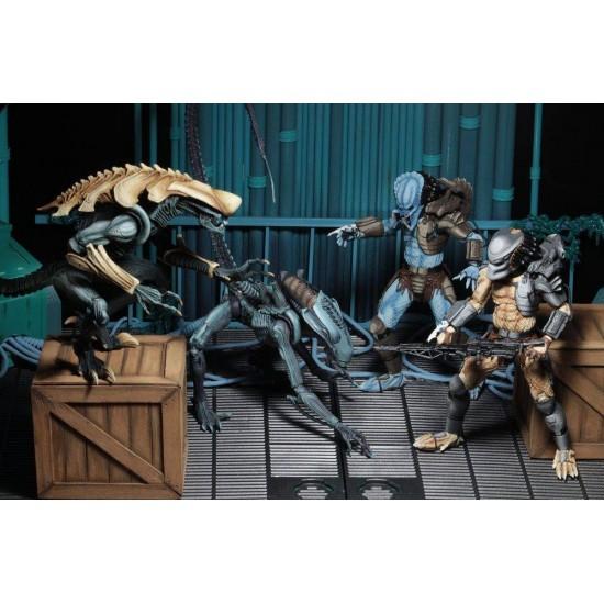 NECA Aliens Vs Predator Arcade Appearance Hunter Predator Action Figure Film-, TV- & Video-Action- & -Spielfiguren
