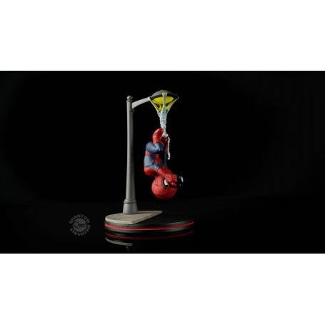 Marvel Comics Q-Fig Figure Spider-Man Spider Cam 14 cm Quantum Mechanix Statue