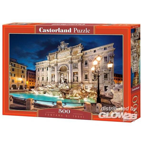 Puzzle Fontana di Trevi, puzzle 500 pieces