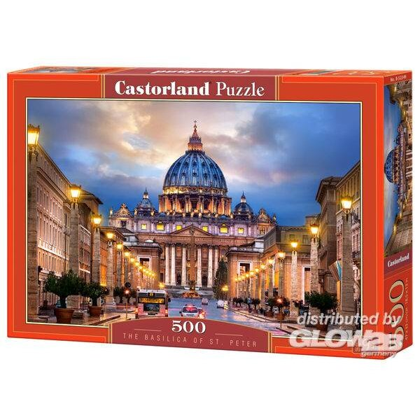 Puzzle The Basilica of St.Peter, Puzzle 500 part