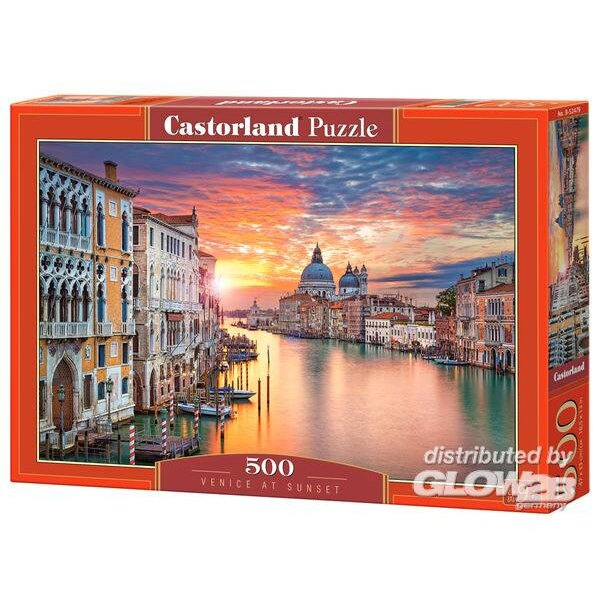 Puzzle Venice at Sunset, puzzle 500 pieces