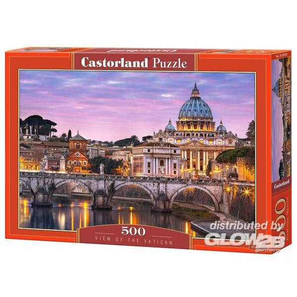 Puzzle View of the Vatican, puzzle 500 pieces