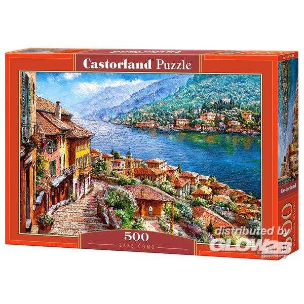 Puzzle Lake Como, puzzle 500 pieces