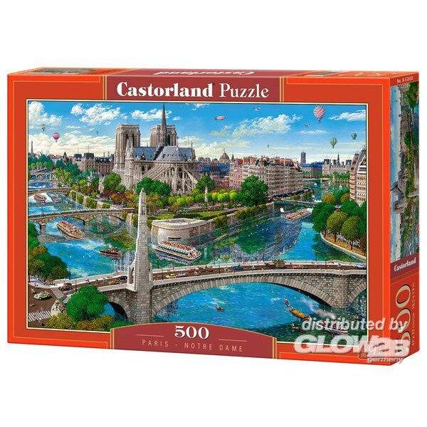 Puzzle Paris-Notre Dame, puzzle 500 pieces