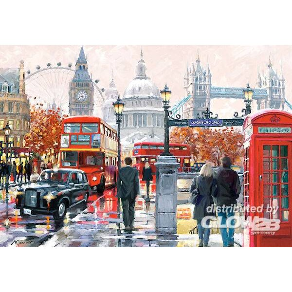 Puzzle London Collage, puzzle 1000 parts