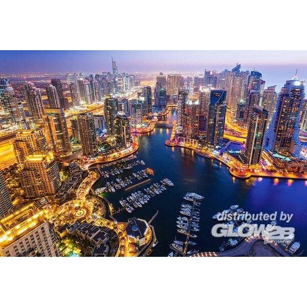 Puzzle Dubai at Night, puzzle 1000 parts
