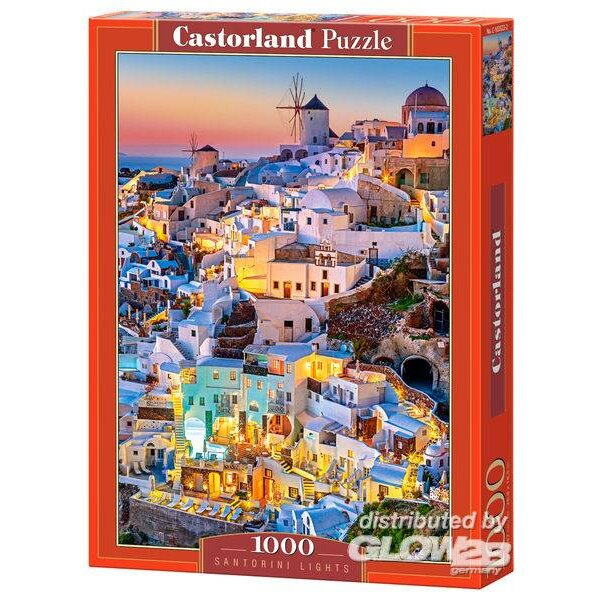 Puzzle Santorini Lights, Puzzle 1000 parts