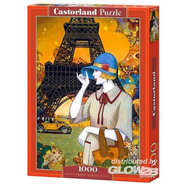 Puzzle Paris Street, puzzle 1000 parts