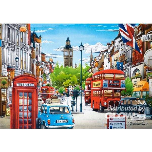 Puzzle London, puzzle 1500 parts