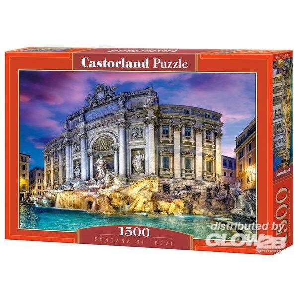 Puzzle Fontanna di Trevi, puzzle 1500 pieces