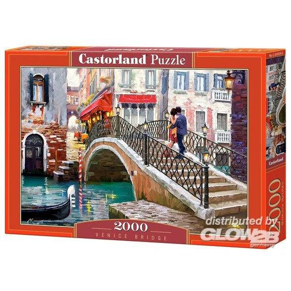 Puzzle Venice Bridge, Puzzle 2000 parts