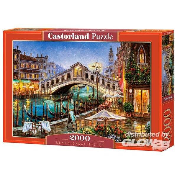 Puzzle Grand Canal Bistro, Puzzle 2000 parts