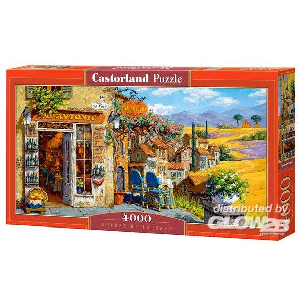 Puzzle Colors of Tuscany, Puzzle 4000 parts