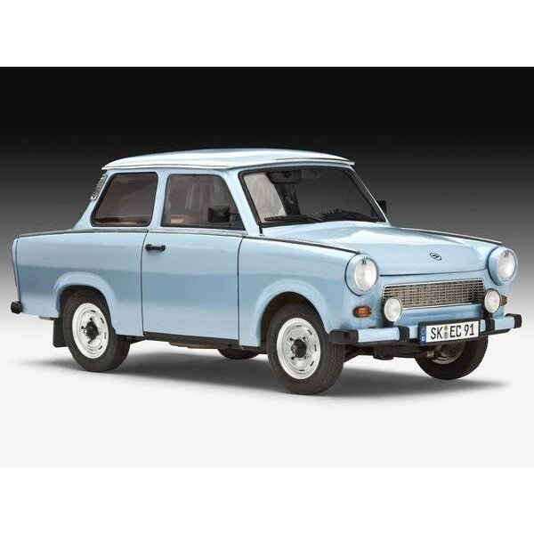 Trabant 601S (includes paints, glue and paint brush)