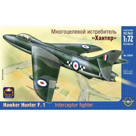 hawker hunter f1 intercept