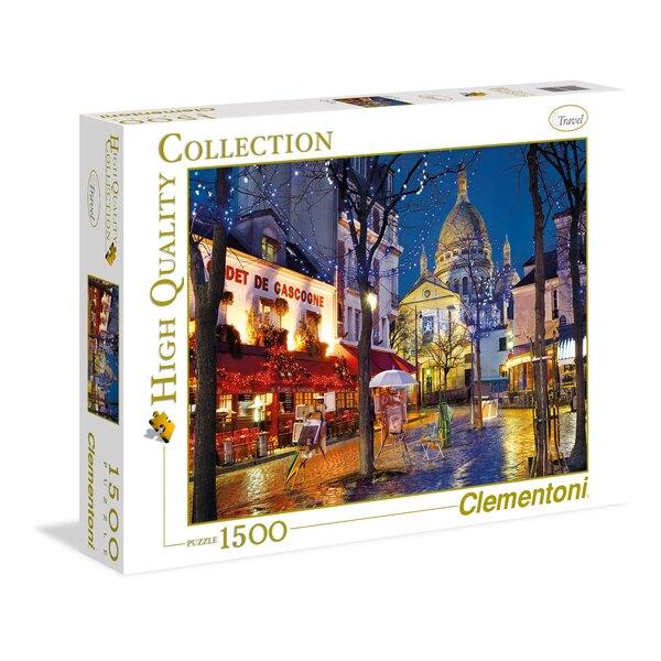 Puzzle Paris. Montmartre