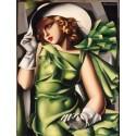 Puzzle Tamara de Lempicka - Ragazza in Verde Clementoni CLE-39332