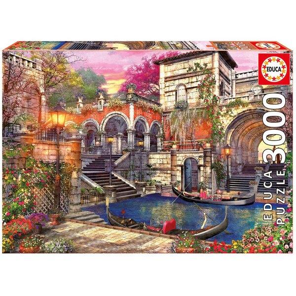 Puzzle Romance in Venice