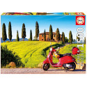 Puzzle Tuscan motorcycle