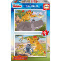 Puzzle The guard of the lion king Educa EDUCA-17168