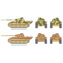 Pz.Kpfw.V Panther Ausf.G Pack includes 2 snap together tank Kits