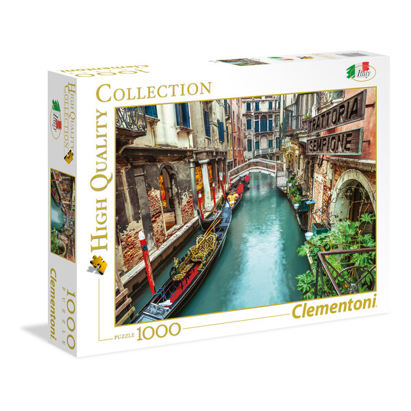 Puzzle Venice canal