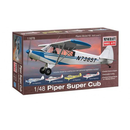 Piper Super Cub Aircraft Embroidered  Hat PA-18