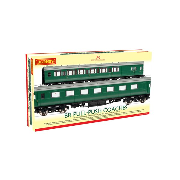 BR, (Ex-Maunsell) Pull/Push Coach Pack, Set 601 - Era 5