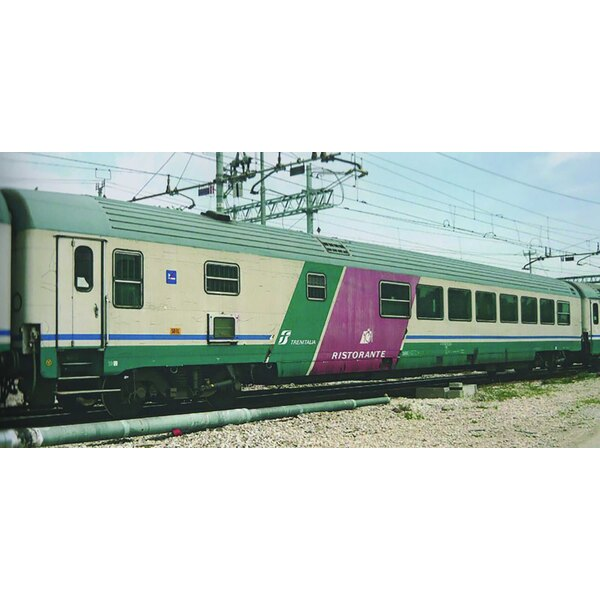 FS, set of 4 GC coaches, incl. a restaurant coach, Frecciabianca livery