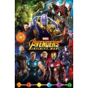 Avengers Infinity War Poster Pack Characters 61 x 91 cm (5) Pyramid International PP34296