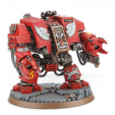 Librarian Dreadnought Warhammer 40K Blood Angels painted action figure 28mm