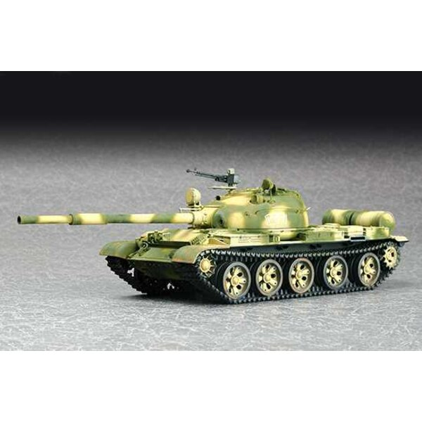 Soviet T-62 Main Battle Tank Model 1972 The T-62 was originally conceived as a companion weapon to the T-55, being essentially a