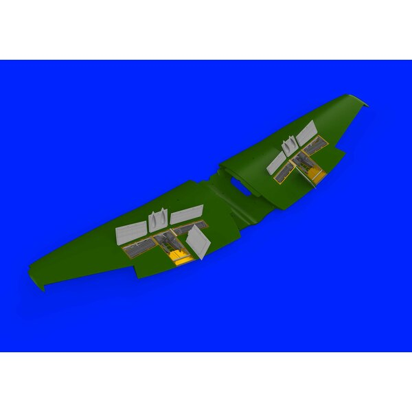 Hawker Tempest Mk.V gun bays (designed to be used with Eduard kits)