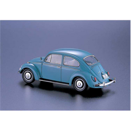"""Diecast Miniature Volkswagen Classical Beetle Blue 1967 Small Scale  Color 2.5/"""""""