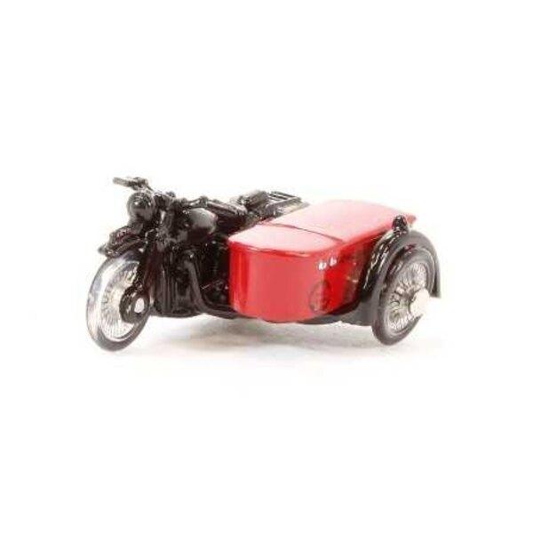 BSA MOTORCYCLE AND SIDECAR ROYAL MAIL