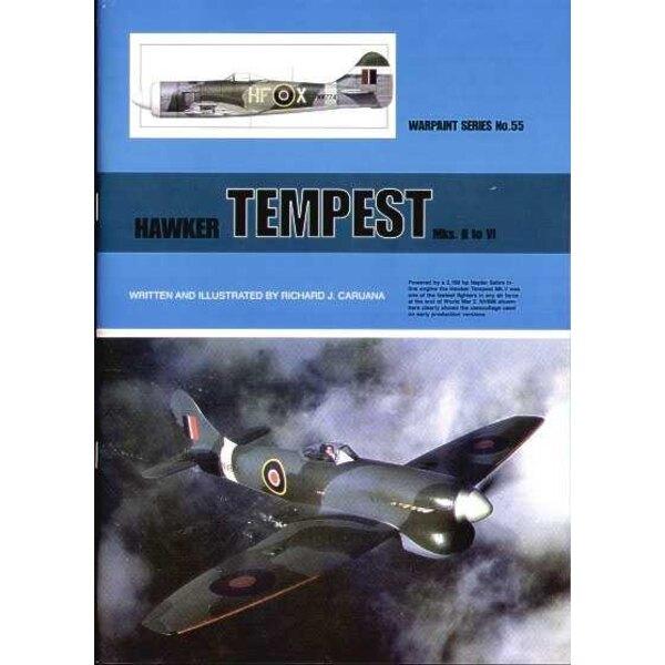 Book Re-released! Hawker Tempest Mk.II thru to Mk.VI (Hall Park Books Limited)[Mk.III Mk.IV Mk.V]