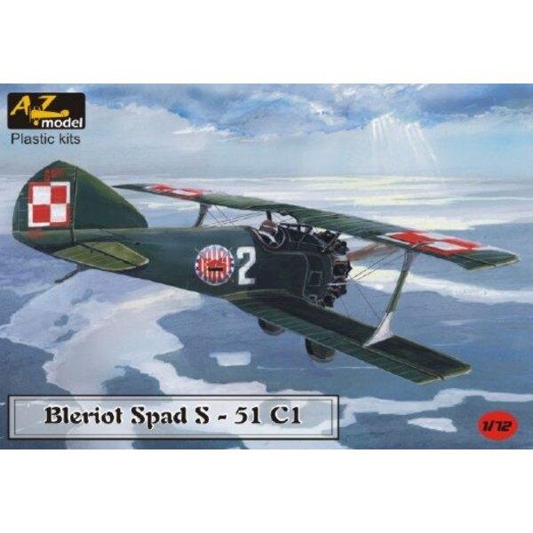 Bleriot Spad 51C1 Decals Poland and Turkey