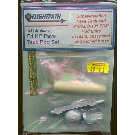 General Dynamics F-111F Pave Tack & AN/ALQ 131 ECM Pods