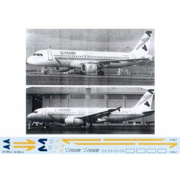 Airbus A320 NOVAIR G-UKLJ