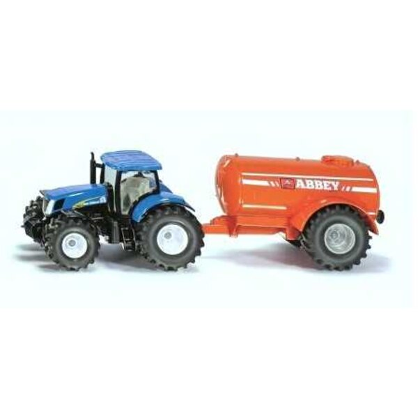 NEW HOLLAND T7070 WITH LISTING TANK