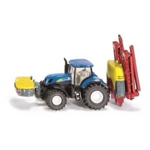 NEW HOLLAND T7070 WITH SPREADER KVERNELAND